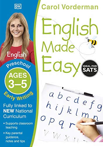 9781409344704: English Made Easy Early Writing Preschool Ages 3-5
