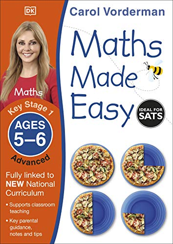 9781409344759: Maths Made Easy Ages 5-6 Key Stage 1 Advanced (Carol Vorderman's Maths Made Easy)