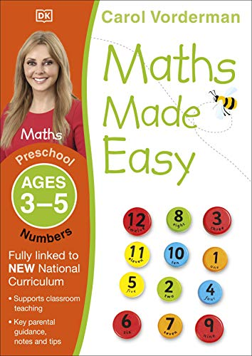 9781409344872: Maths Made Easy Numbers Preschool Ages 3-5 (Made Easy Workbooks)