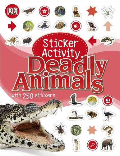 Sticker Activity Deadly Animals