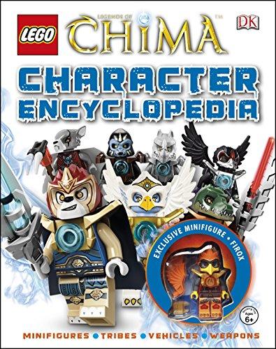 9781409350545: LEGO Legends of Chima Character Encyclopedia