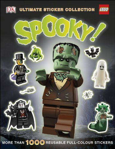 9781409354345: LEGO® Spooky! Ultimate Sticker Collection