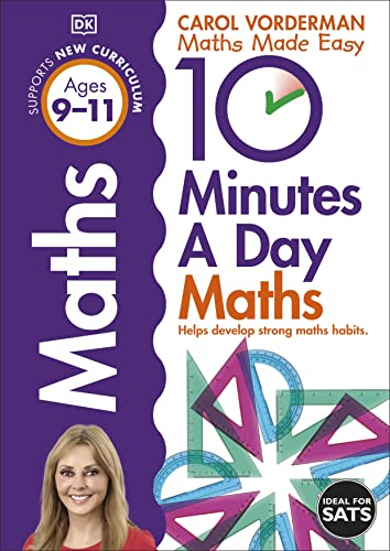 9781409365433 10 minutes a day maths ages 9 11 carol vorderman s
