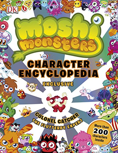 Moshi Monsters Character Encyclopedia: Claire Sipi