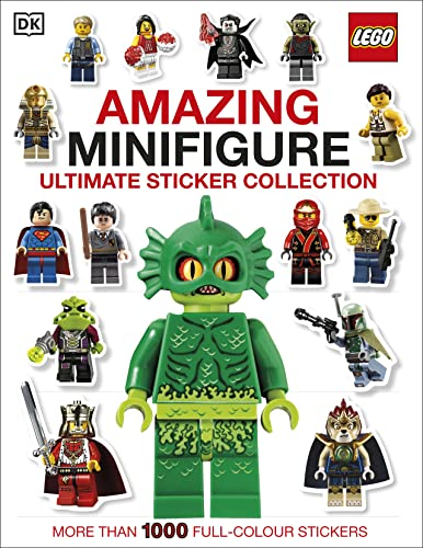 9781409367826: Lego Amazing Minifigure Ultimate Sticker Collection (Ultimate Stickers)