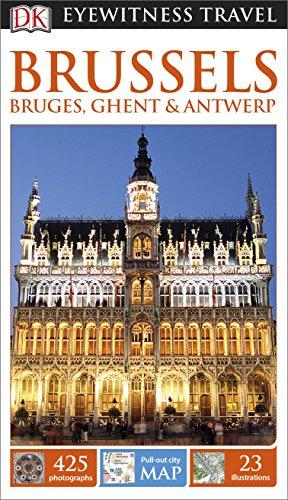 9781409368700: DK Eyewitness Travel Guide: Brussels, Bruges, Ghent & Antwerp