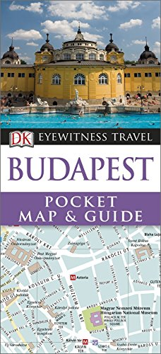 DK Eyewitness Pocket Map and Guide: Budapest: Collectif
