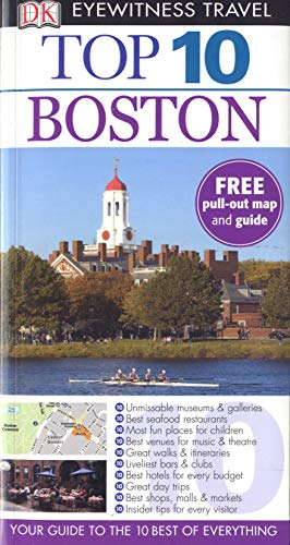 9781409373339: DK Eyewitness Top 10 Travel Guide Boston (DK Eyewitness Travel Guide)