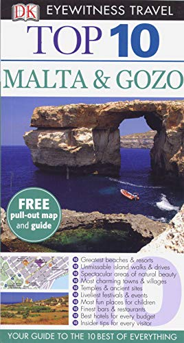 9781409373520: DK Eyewitness Top 10 Travel Guide: Malta & Gozo