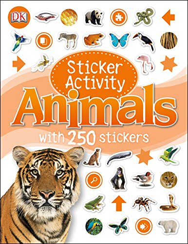 9781409374404: Sticker Activity Animals