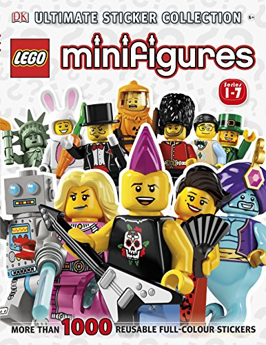 9781409374718: LEGO Minifigures Ultimate Sticker Collection (Ultimate Stickers)