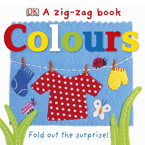 9781409376040: A Zig-Zag Book Colours