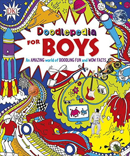 Doodlepedia for Boys: Dorling Kindersley ( DK CHU BAN SHE )