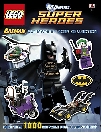 9781409378150: LEGO® Batman Ultimate Sticker Collection LEGO® DC Universe Super Heroes