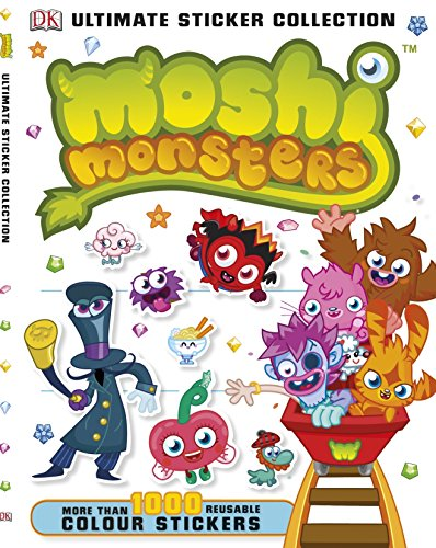 9781409378396: Moshi Monsters Ultimate Sticker Collection (Ultimate Stickers)