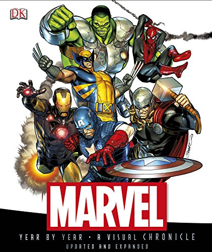 Marvel Year by Year A Visual Chronicle: DK