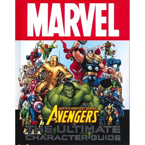9781409379218: Marvel Avengers Character Encyclopedia by Marvel, Comics & Graphic Novels