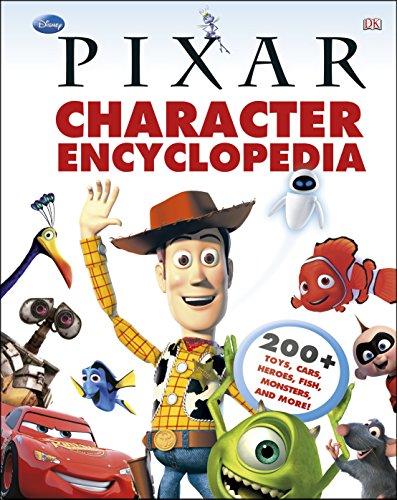 9781409379256: Disney Pixar Character Encyclopedia