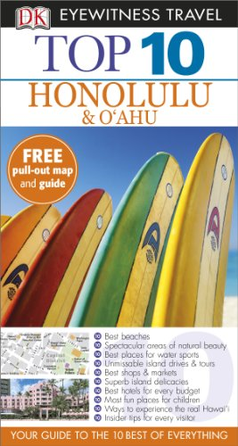 9781409382829: Top 10 Honolulu and O'ahu (DK Eyewitness Travel Guide)