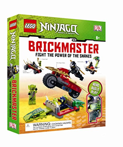9781409383253: LEGO Ninjago Fight the Power of the Snakes! Brickmaster