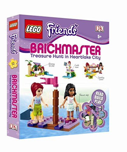 9781409383260: LEGO Friends Brickmaster: Treasure Hunt in Heartlake City
