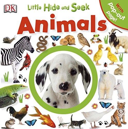Little Hide and Seek Animals (Little Hide & Seek): DK