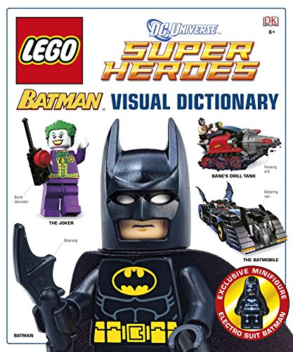 9781409386018: LEGO Batman the Visual Dictionary LEGO DC Universe Super Heroes (Hardback) By (author) Daniel Lipkowitz