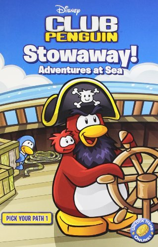 9781409390152: Stowaway! Adventures at Sea: Pick Your Path Bk. 1 (Club Penguin)