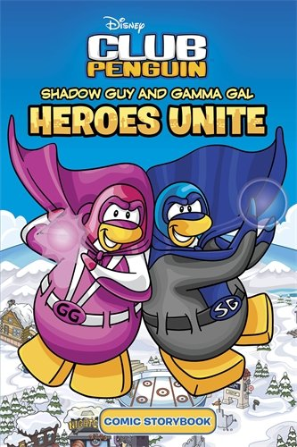 Club Penguin: Shadow Guy and Gamma Girl: collectif