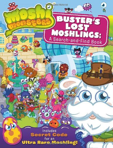 9781409390541: Buster's Lost Moshlings: A Search-And-Find Book. (Moshi Monsters)