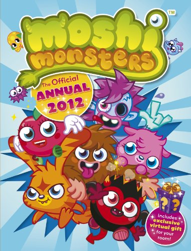 9781409390596: Moshi Monsters: Official Annual 2012