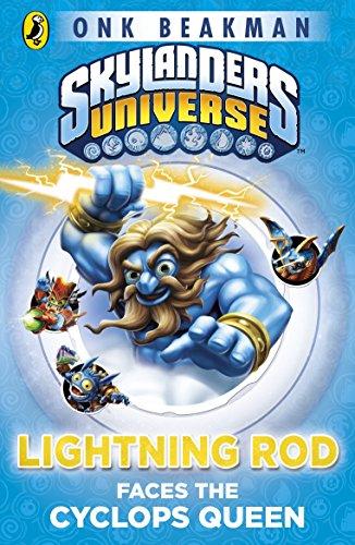 9781409392002: Skylanders Mask of Power: Lightning Rod Faces the Cyclops Queen: Book 3
