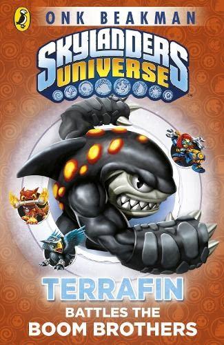 Skylanders Mask of Power: Terrafin Battles the Boom Brothers: Book 4