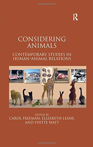9781409400134: Considering Animals: Contemporary Studies in Human–Animal Relations
