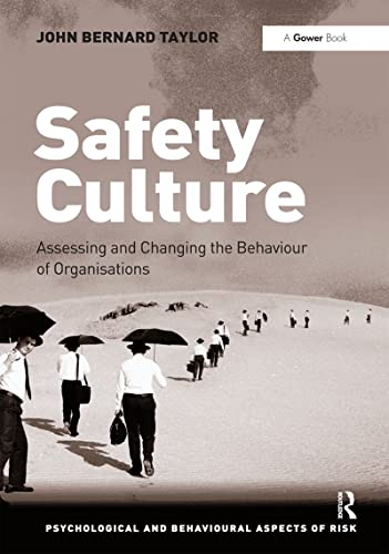 9781409401278: Safety Culture (Psychological and Behavioural Aspects of Risk)