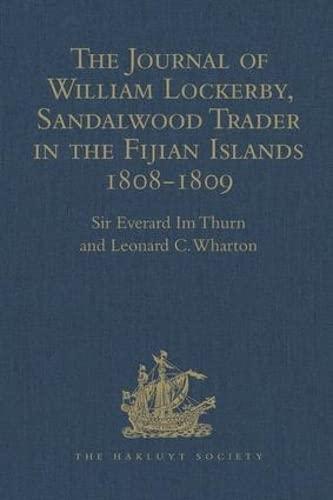 The Journal of William Lockerby, Sandalwood Trader: WHARTON, LEONARD C.