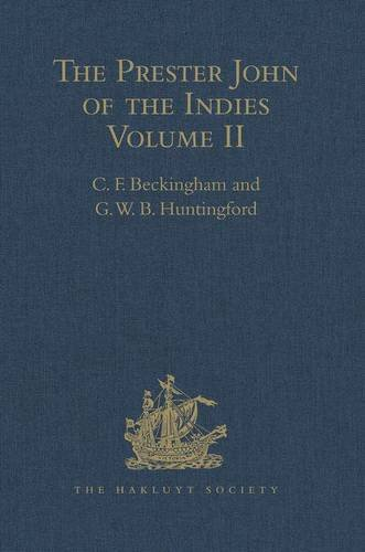The Prester John of the Indies: Volume: G. W. B.