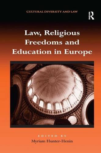 9781409427308: Law, Religious Freedoms and Education in Europe (Cultural Diversity and Law)