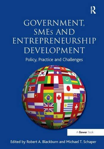 9781409430353: Government, SMEs and Entrepreneurship Development: Policy, Practice and Challenges