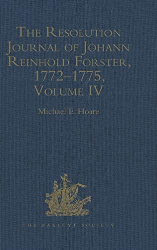 The Resolution Journal of Johann Reinhold Forster,: Hoare, Michael E.