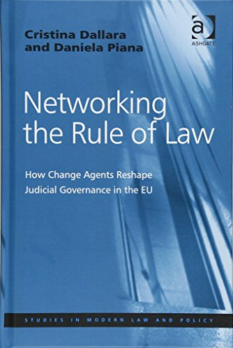 9781409433057: Networking the Rule of Law: How Change Agents Reshape Judicial Governance in the EU (Studies in Modern Law and Policy)