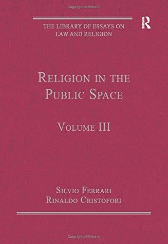 Religion in the Public Space (Hardcover): Silvio Ferrari