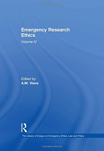 Emergency Research Ethics (Hardcover): A.m. Viens