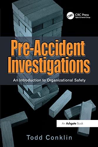 Pre-Accident Investigations: Todd Conklin