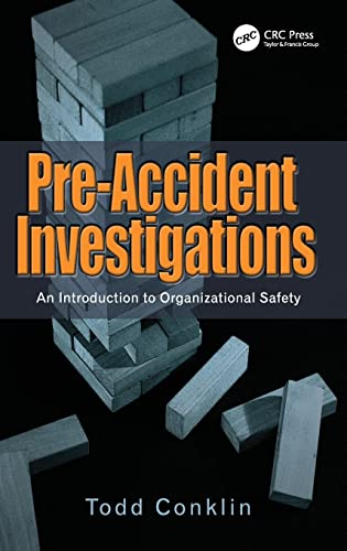 9781409447832: Pre-Accident Investigations: An Introduction to Organizational Safety