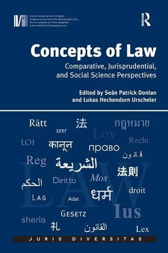 Concepts of law : comparative, jurisprudential, and social sciences perspectives: Seán Patrick ...