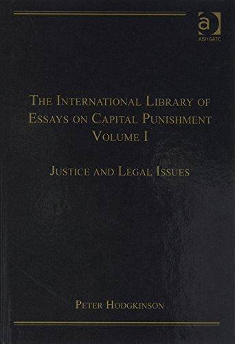 The International Library of Essays on Capital Punishment (Hardback): Mr Peter Hodgkinson