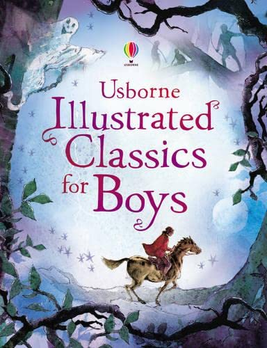 9781409500391: Usborne Illustrated Classics for Boys