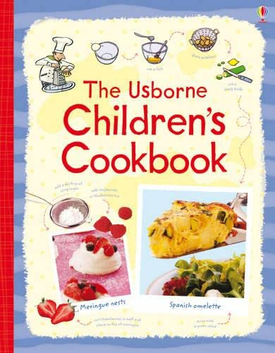 9781409500919: The Usborne Children's Cookbook Spiral-Bound