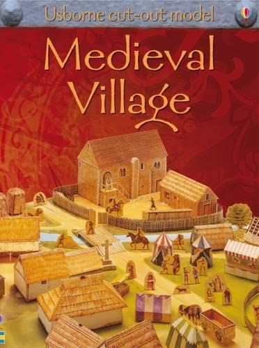 9781409501053: Make This Medieval Village (USBORNE CUT-OUT MODELS S.)
